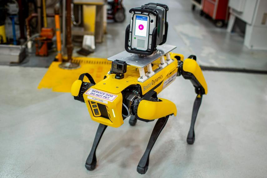 robots de cuatro patas